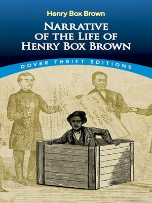 cover image of Narrative of the Life of Henry Box Brown