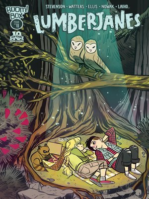 cover image of Lumberjanes (2014), Issue 11