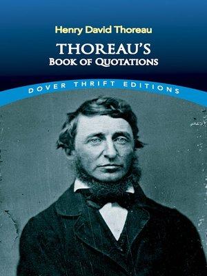 cover image of Thoreau