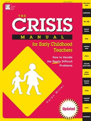 cover image of The Crisis Manual for Early Childhood Teachers