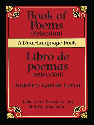 cover image of Book of Poems (Selection)/Libro de poemas (Selección)