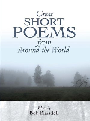 cover image of Great Short Poems from Around the World