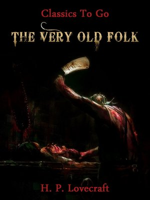 cover image of The Very Old Folk