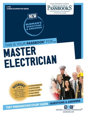 cover image of Master Electrician