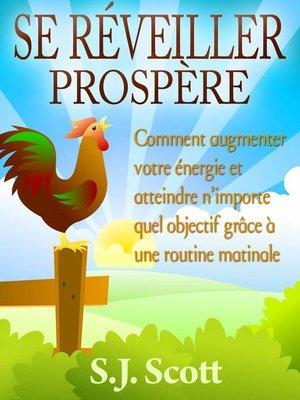 cover image of Se réveiller prospère