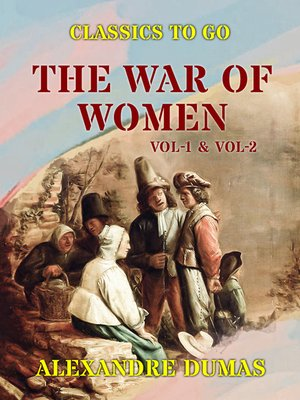 cover image of The War of Women, Volume 1-2