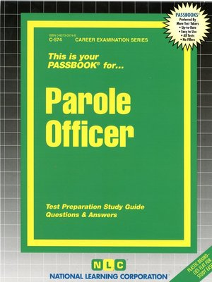 cover image of Parole Officer