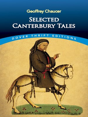 cover image of Selected Canterbury Tales