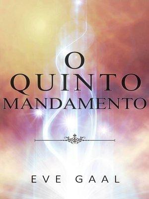 cover image of O Quinto Mandamento