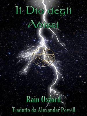 cover image of Il Dio degli Abissi--Il Terzo Libro dei Guardiani