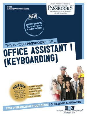 cover image of Office Assistant I (Keyboarding)