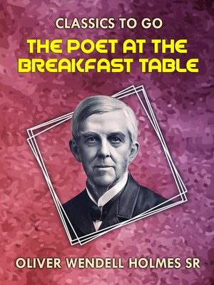 cover image of The Poet At the Breakfast Table