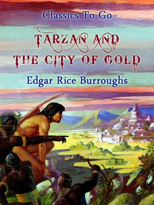 cover image of Tarzan and the City of Gold