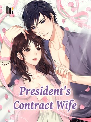 cover image of President's Contract Wife