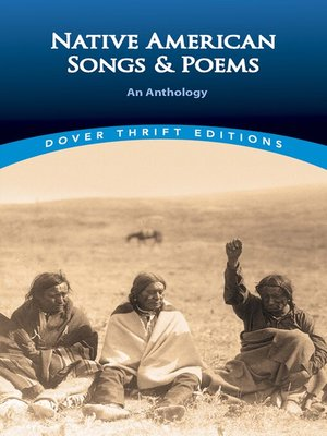 cover image of Native American Songs and Poems