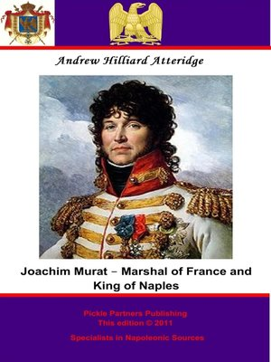 cover image of Joachim Murat