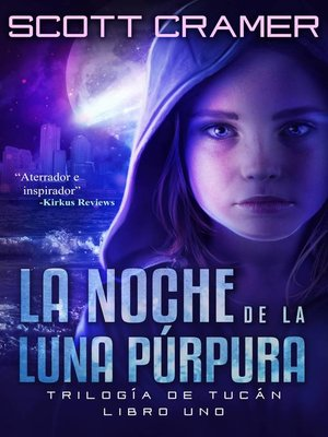 cover image of La Noche De La Luna Púrpura