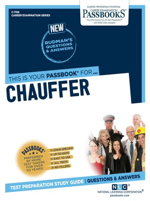 cover image of Chauffeur