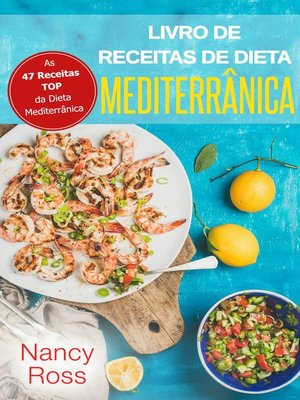 cover image of Livro de Receitas de Dieta Mediterrânica