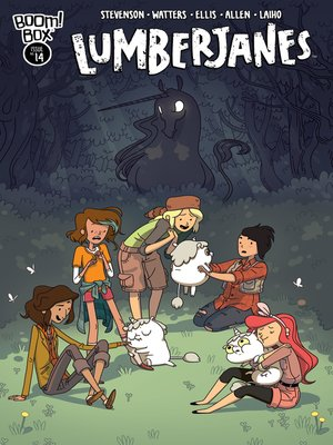 cover image of Lumberjanes (2014), Issue 14