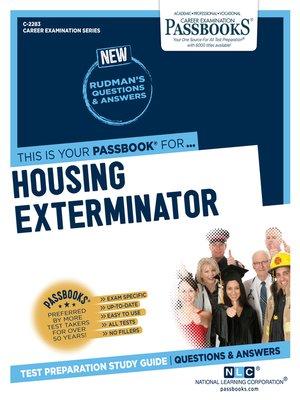 cover image of Housing Exterminator