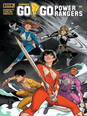 cover image of Saban's Go Go Power Rangers, Issue 16