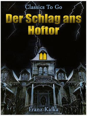 cover image of Der Schlag ans Hoftor