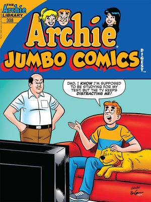 cover image of Archie Double Digest #308