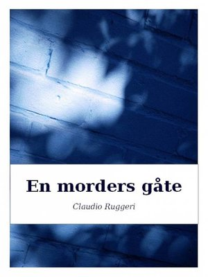 cover image of En morders gåte