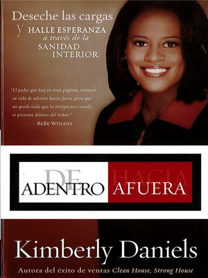 cover image of De adentro hacia afuera