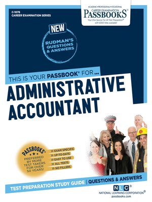 cover image of Administrative Accountant