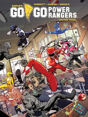 cover image of Saban's Go Go Power Rangers, Volume 4