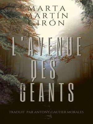 cover image of L'Avenue des Géants