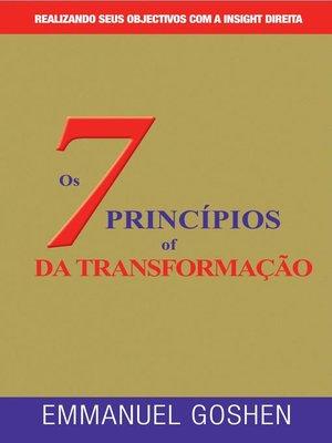 cover image of OS SETE PRINCÍPIOS DA TRANSFORMAÇÃO