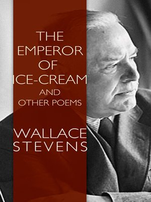 cover image of The Emperor of Ice-Cream and Other Poems