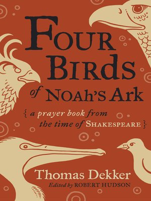 cover image of Four Birds of Noah's Ark