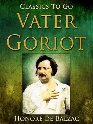 cover image of Vater Goriot
