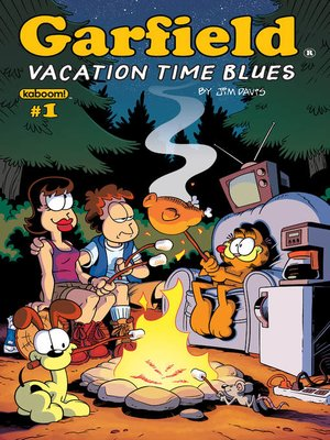 cover image of Garfield: Vacation Time Blues