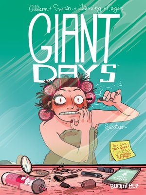 cover image of Giant Days (2015), Issue 16