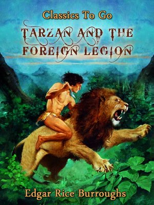 cover image of Tarzan and the Foreign Legion
