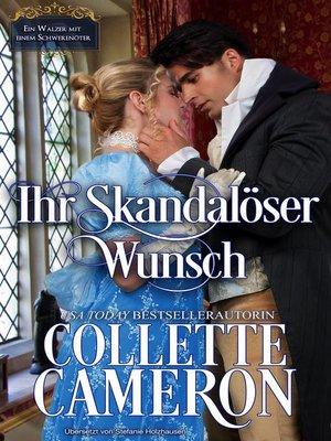cover image of Ihr skandalöser Wunsch