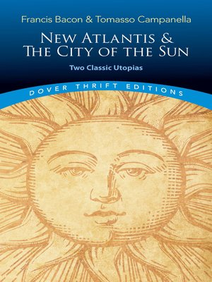 cover image of New Atlantis and the City of the Sun