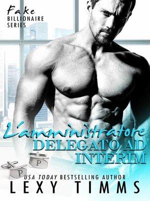 cover image of L'amministratore delegato ad interim