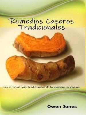 cover image of Remedios caseros tradicionales