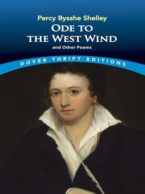 cover image of Ode to the West Wind and Other Poems