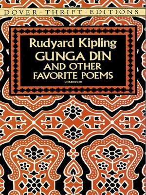 cover image of Gunga Din and Other Favorite Poems