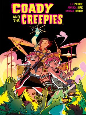 cover image of Coady & the Creepies