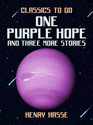 cover image of One Purple Hope and three more Stories