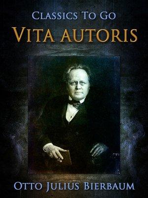 cover image of Vita autoris