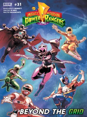 cover image of Mighty Morphin Power Rangers, Issue 31